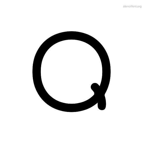 Rounded Stencil Q